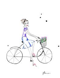 bike with flower basket joana miranda studio