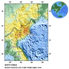 Korea On Map N Korea Says It Tested Miniaturized More Powerful Nuclear Bomb