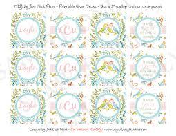 tweet little love birds baby shower invitation printable just