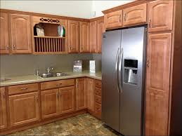 kitchen kitchen maid cabinets pantry cupboard walnut kitchen