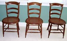 Antique Oak Ladder Back Chairs Antique Ladder Back Chairs Ebay