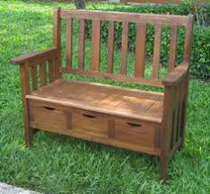 Diy Wood Storage Bench by How To Build An Outdoor Storage Bench Project Diy Pinterest