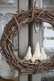 Diy Twig Wreath by Make Your Own Very Simple Rustic Holiday Wreath With A Grapevine