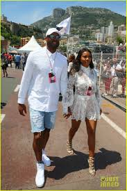 gabrielle union u0026 dwyane wade couple up for grand prix photo