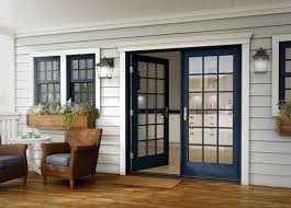 outswing patio doors milgard essence series in swing and out swing patio doors