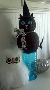 Black Cat Halloween Crafts 651 Best Pumpkins Ideas Images On Pinterest Pumpkin Ideas