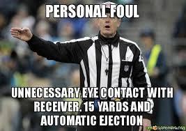 Cowboys Saints Meme - nfl personal foul meme