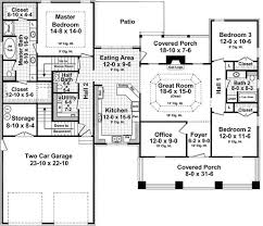 craftsman style house plan 3 beds 2 00 baths 1940 sq ft plan 21 359