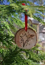 diy christmas ornaments easy pyrography wood burning