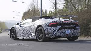 Lamborghini Huracan Grey - lamborghini huracan performante spyder spied stripping off camo
