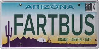 Banned Vanity Plates Banned Arizona License Plates 50 Additional Rejected Plates