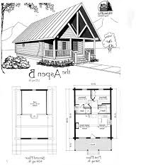 cabins floor plans small cabin house plans rustic modern tiny floor with loft 2