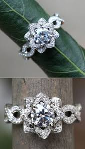 lotus engagement ring 20 stunning wedding engagement rings that will you away