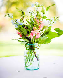 Rustic Vases For Weddings 39 Simple Wedding Centerpieces Martha Stewart Weddings