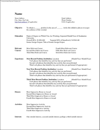 resume templates free for word resume ms word resumess memberpro co