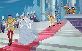reading cinderella disney princess story book