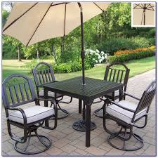 Wrought Iron Patio Furniture Set by 5 Piece Wrought Iron Patio Dining Set Patios Home Decorating