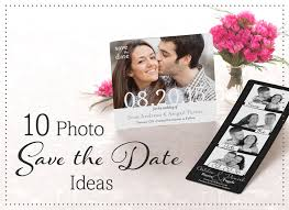 save the dates ideas 10 photo save the date ideastruly engaging wedding