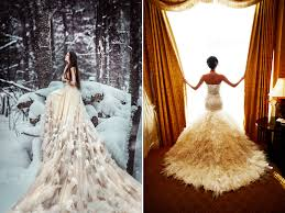 gorgeous wedding dresses 30 gorgeous wedding dresses with feather details praise wedding