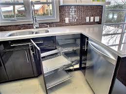 amenagement placard cuisine angle supérieur amenagement meuble d angle cuisine 5 cuisine