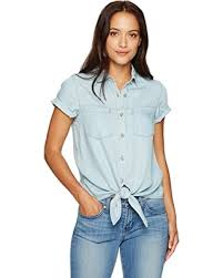 light blue button down shirt women s great deals on khakis co women women s petite size short sleeve