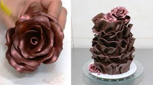 modeling chocolate recipe how to make a chocolate rose by