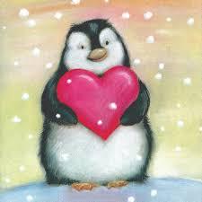 cards penguins hearts matter