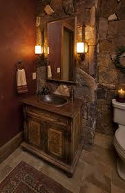 rustic bathroom design ideas rustic bathroom design ideas using light blue grey bathroom wall