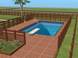 2 house with pool swimming pool the sims wiki fandom powered by wikia