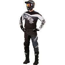 motocross gear ebay new oneal 2018 mx element black grey jersey pants dirt bike