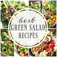 Best Salad Recipes Best Green Salad Recipes A Dash Of Sanity