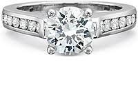 precision set rings precision set flush fit channel set diamond engagement ring 7234