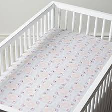 Crib Mattress Fitted Sheet Crib Fitted Sheets Crate And Barrel