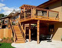 Deck Estimates Per Square by Building A Deck What Is The Best Decking Material Lot Lines