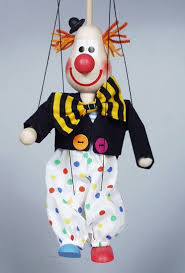 clown puppets for sale buy clown wood marionette puppet online size 10 code ma234