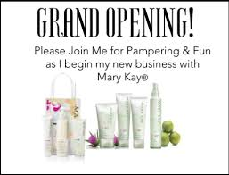 postcard invitations for mary kay business launch http www blog