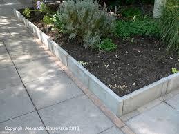 Patio Edging Stones by Aggregata Plants U0026 Gardens Fun With Paving And Garden Edging