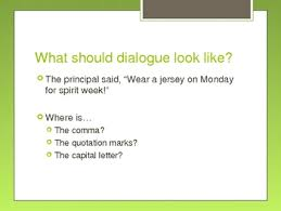 quotation marks in dialogue powerpoint by hooray for third grade