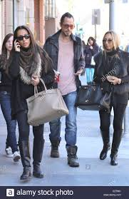 rock guitarist chris cornell out and about with his wife daughter