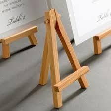 how to make a simple table top easel wood tabletop easel standard tripod design 5 25 x 9 375 natural