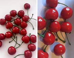 Fake Fruit Centerpieces by Fake Cherries Etsy