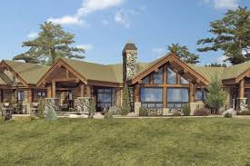 large one story homes large one story log home floor plans single story log home rustic