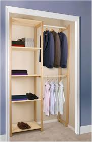 Industrial Closet Organizer - ana white industrial style wood slat closet system with in wood