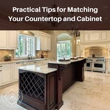 how to match granite to cabinets practical tips for matching your countertop and cabinet