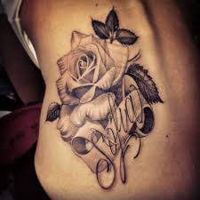 name tattoos and piercings