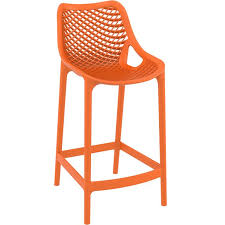 modern orange bar stools plastic counter stools infinity smoked plastic contemporary bar