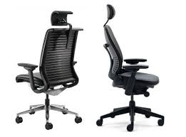 amazing chair with headrest with steelcase leap chair with