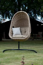 Wicker Rattan Patio Furniture - outdoor wicker swing chair fun and comfortable furniture