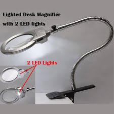 led lighted desk magnifying l lighted magnifying glass ebay