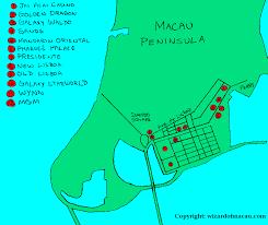 Macau China Map by Maps Of Macau
